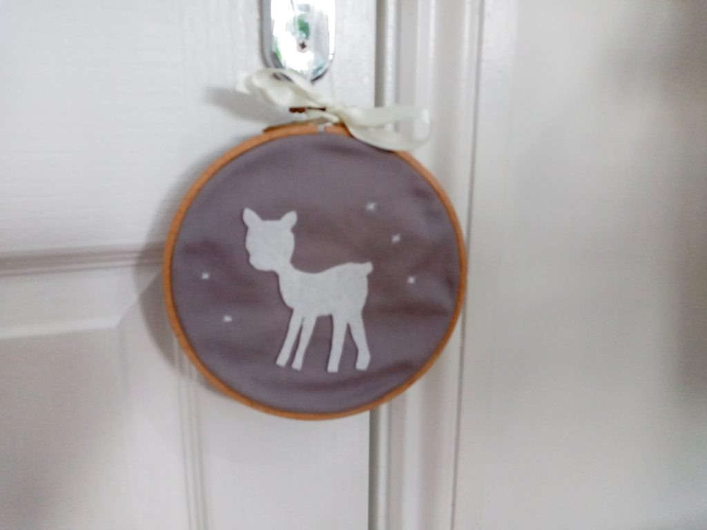 Nursery Applique Hoop DIY