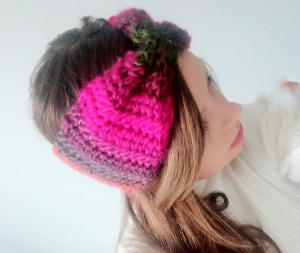 Crochet The Autumn Leaves Headband