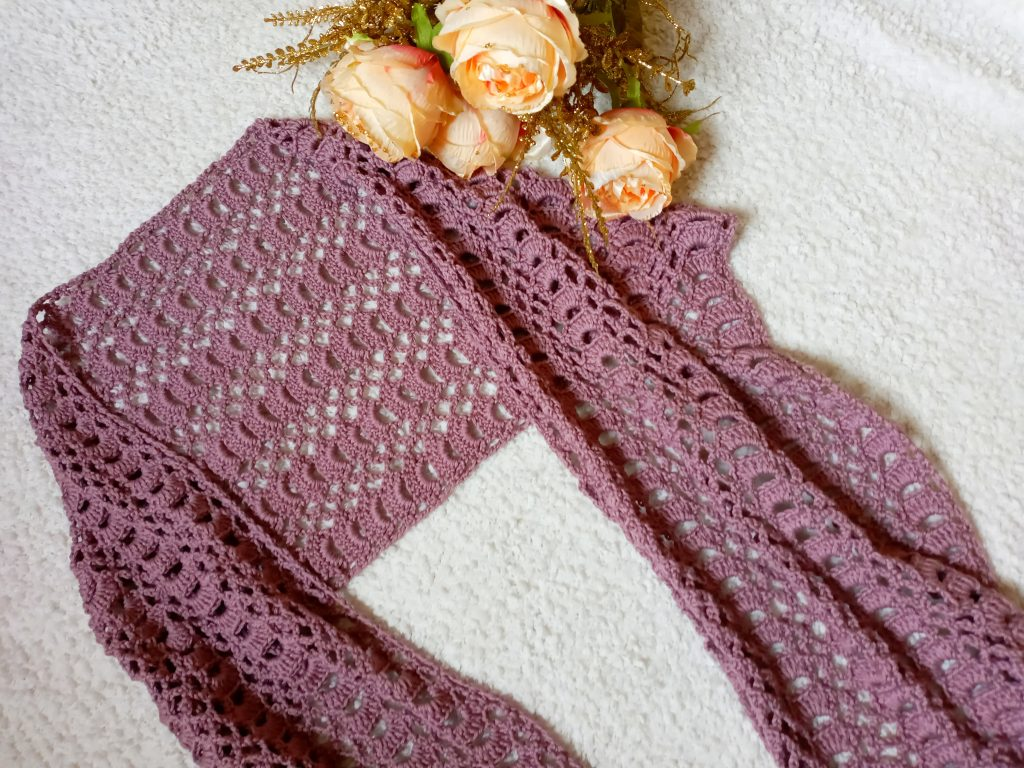 Crochet An Edwardian Era Wrap