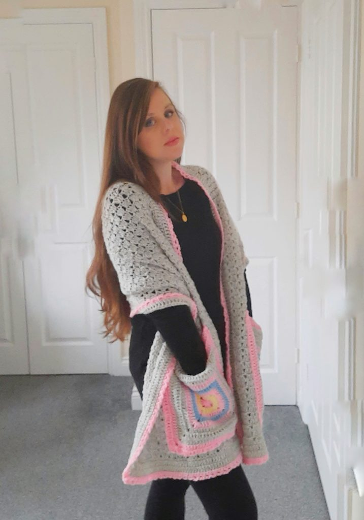 Crochet The Serena Pocket Shawl