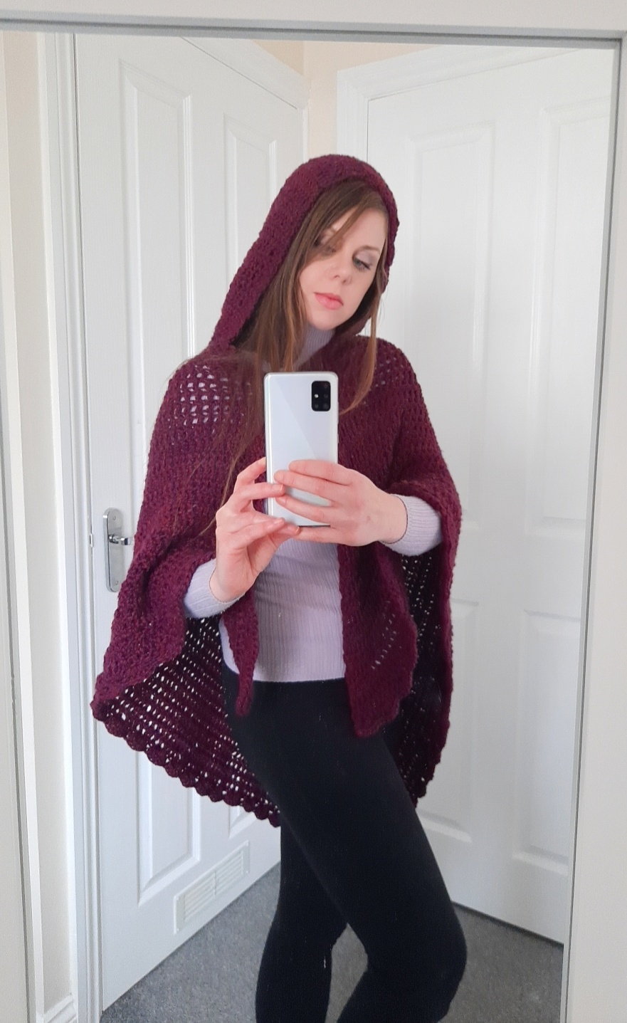 Crochet The Maiden Hooded Shawl