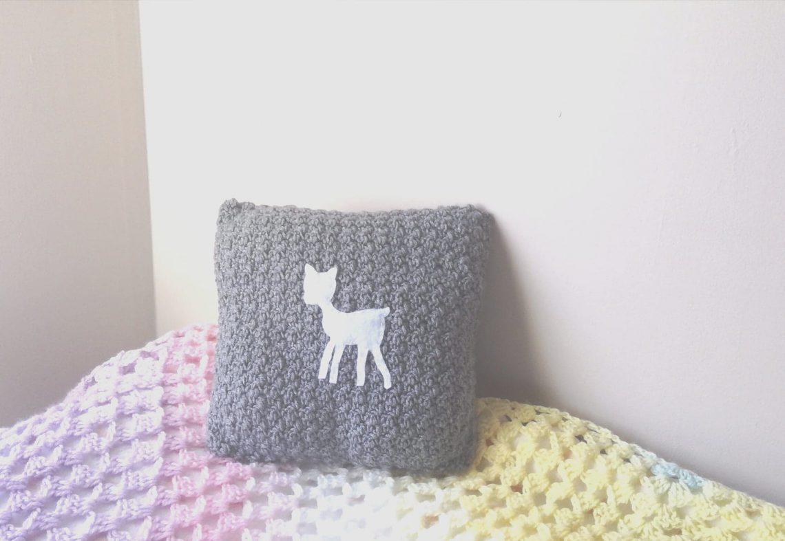Crochet Nursery Cushion Tutorial