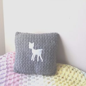 Crochet Nursery Cushion Tutorial