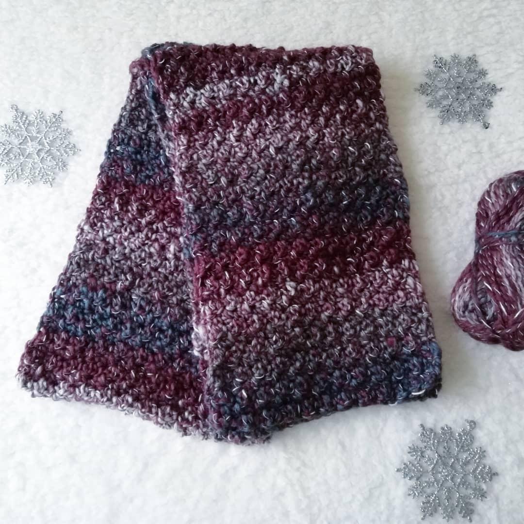 Crochet Easy and Stylish Man Scarf