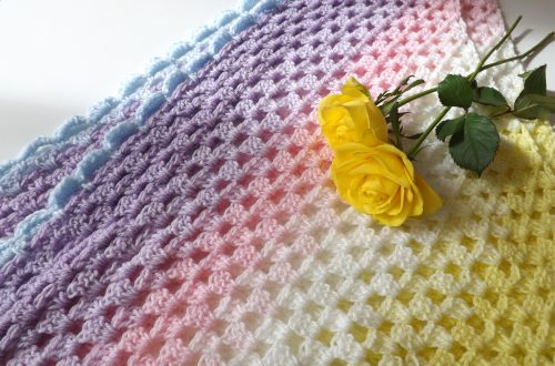 Crochet The Rainbow Shawl