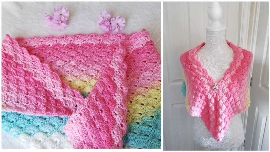Crochet The Everlasting Love Shawl