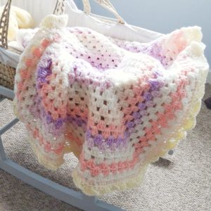 Crochet The Vintage Baby Blanket