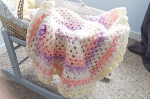 Crochet The Vintage Baby Blanket
