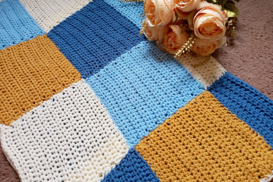 Crochet the Man Blanket/Afghan