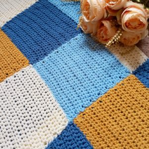 Crochet the Man Blanket/Afghan