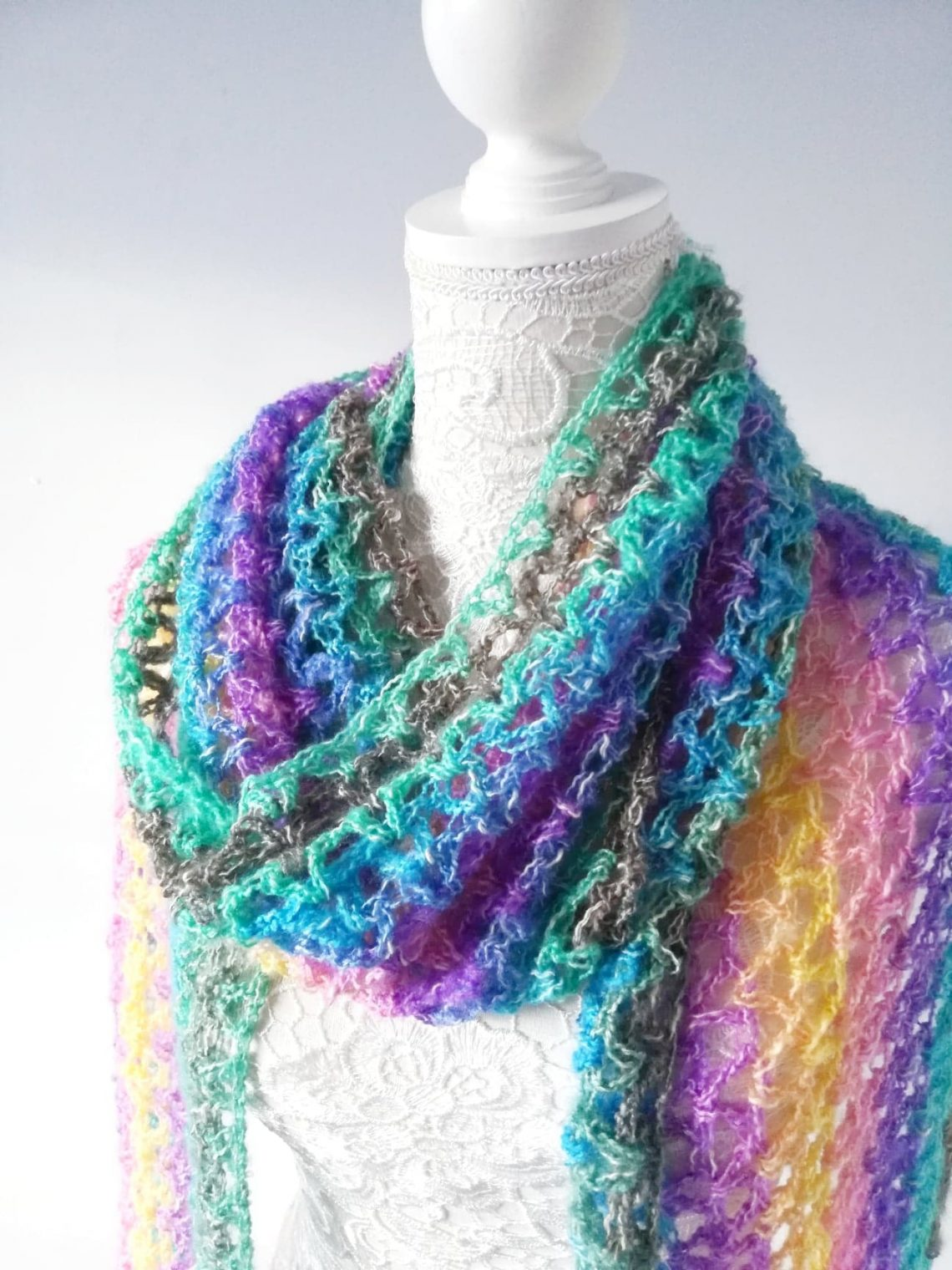 Crochet The Unique Unicorn Wrap