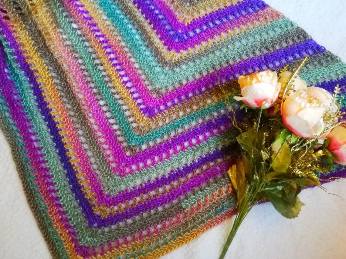 Crochet The Beautiful Maiden Wrap