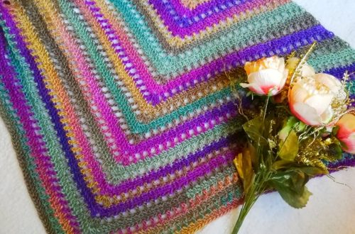 Crochet The Beautiful Maiden Wrap