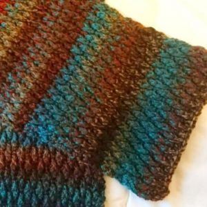 Crochet The Alpine Man Stitch