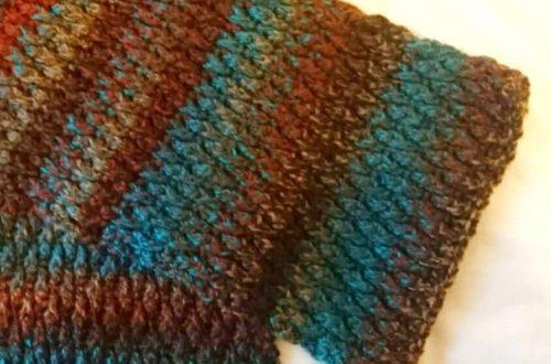 Crochet The Alpine Man Stitch