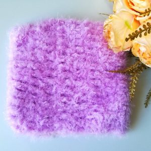 Crochet Soft Fluffy Cowl