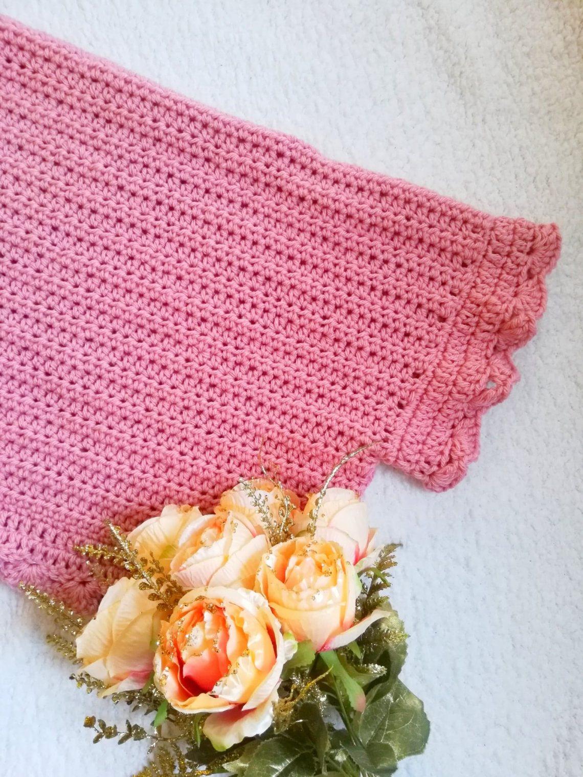 Crochet The Beautiful Rose Cardigan
