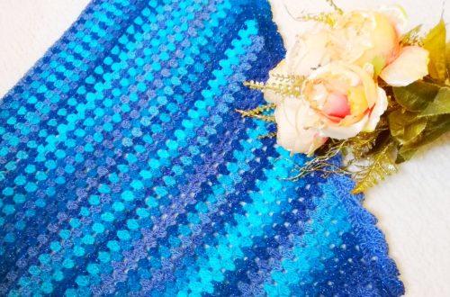 Crochet The Mermaid Shawl