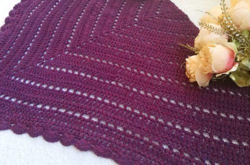 Crochet 1940s French Wrap