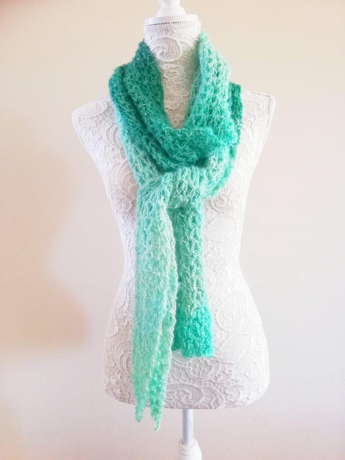 Crochet The Jade Pool Scarf