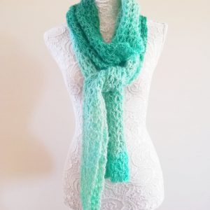 Crochet The Jade Pool Scarf