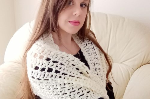 Crochet The Ingenue Wrap