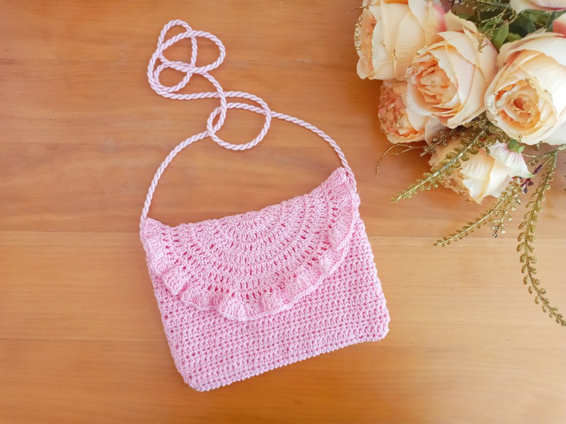Crochet Easy Boho Festival Bag