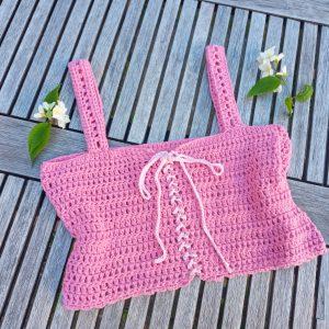 Crochet The Summer Skies Crop Top