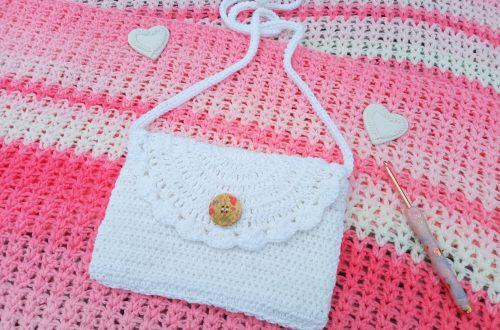 Crochet Boho Festival Bag
