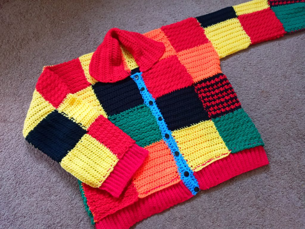 Crochet The Iconic Patchwork Cardigan