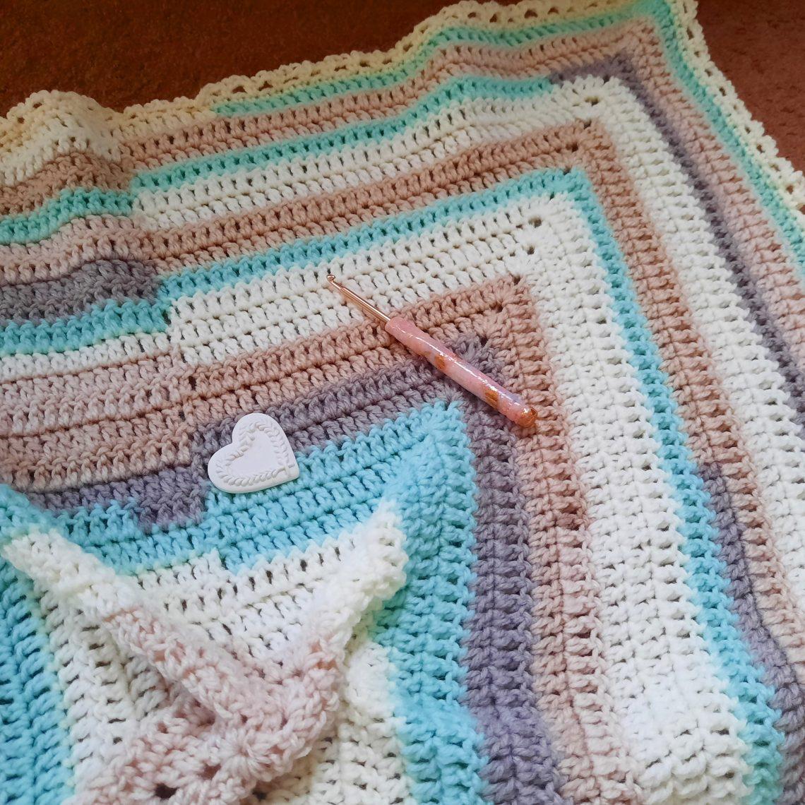 Crochet The Louis Baby Blanket