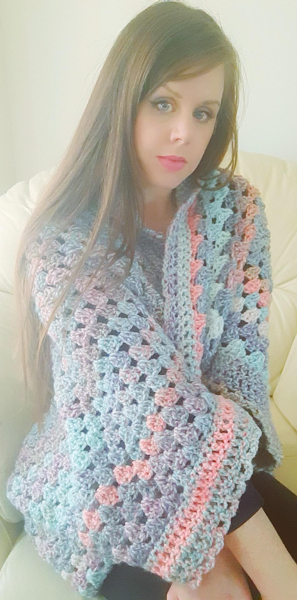 Crochet a cardigan