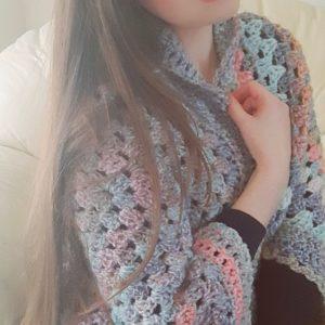 Crochet The Paige Cocoon Shrug
