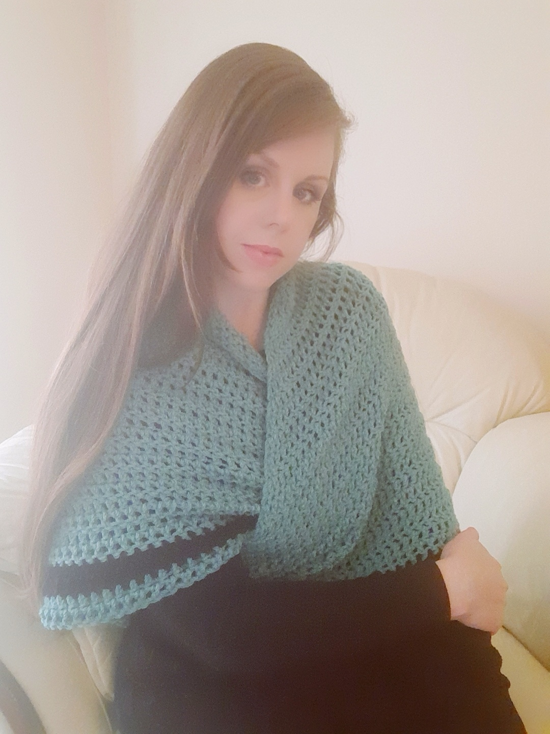Crochet The Claire Shawl from Outlander