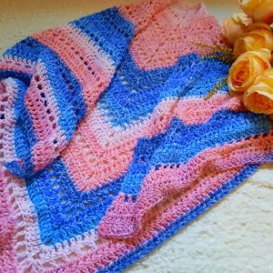 Crochet The Siren's Call Boho Wrap