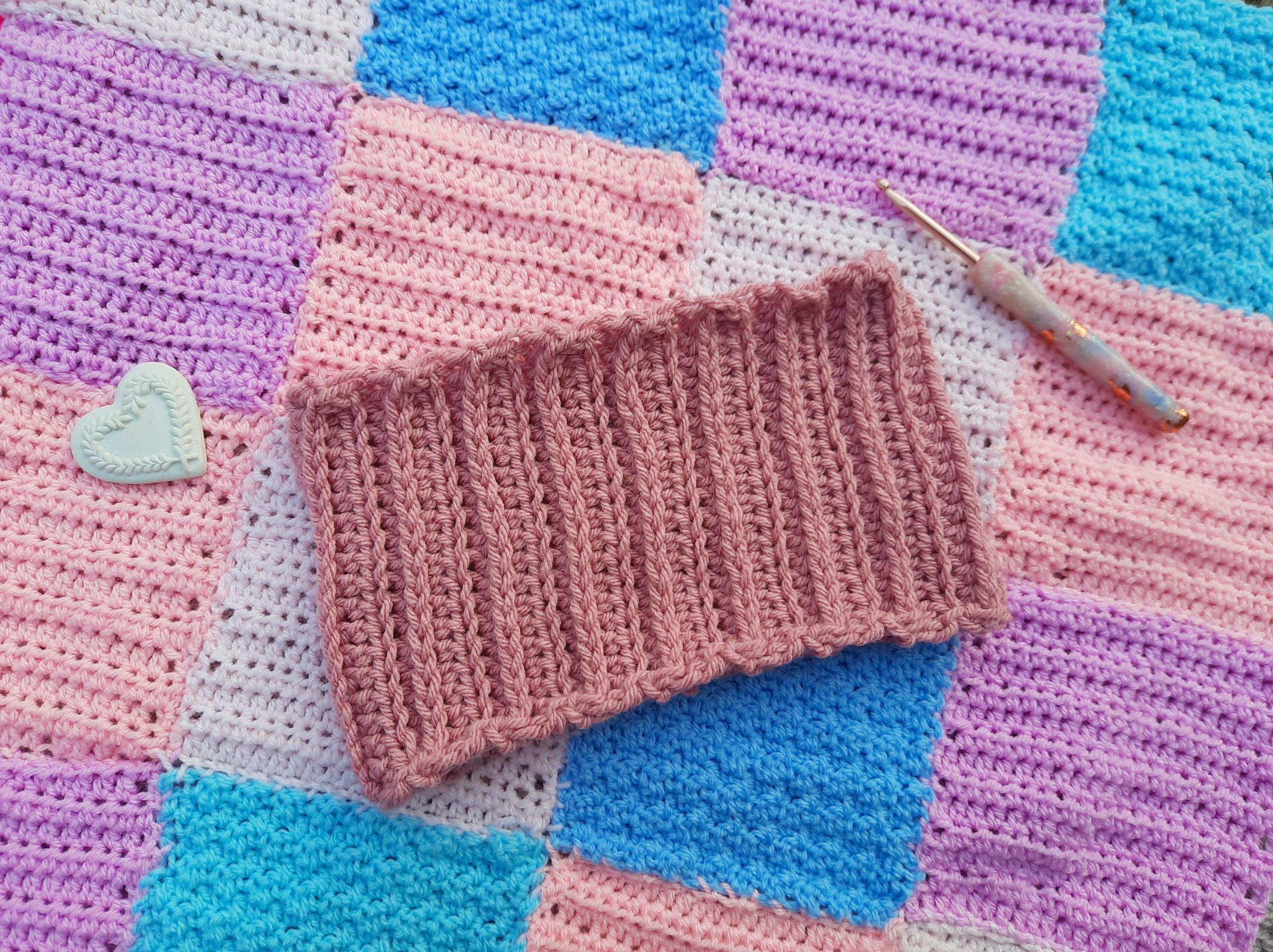 Crochet a Knit Like Headband