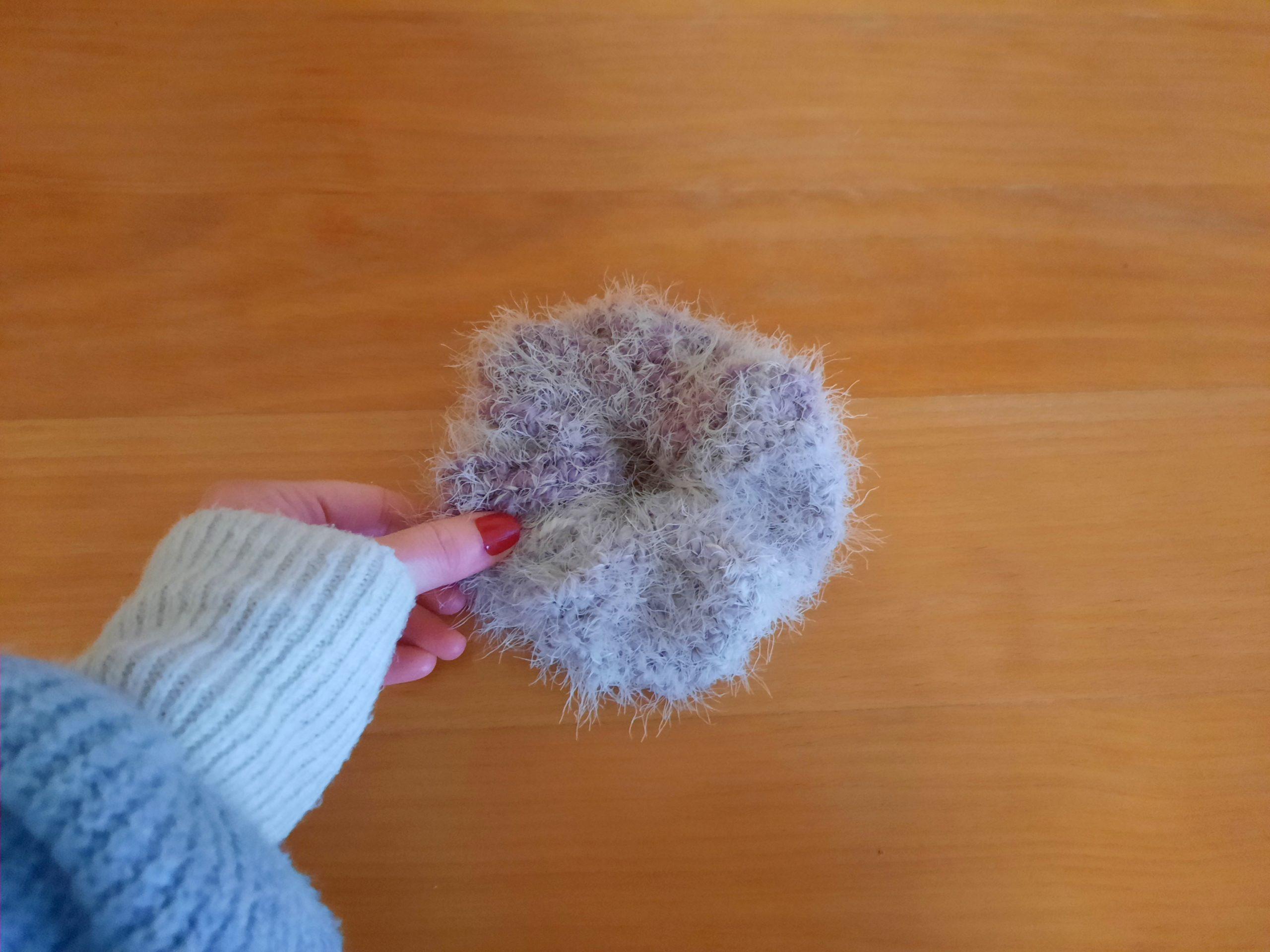 Crochet Easy Fluffy Scrunchie