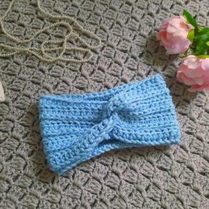 Crochet Easy Twist Headband
