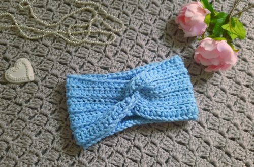 Crochet Easy Twist Headband