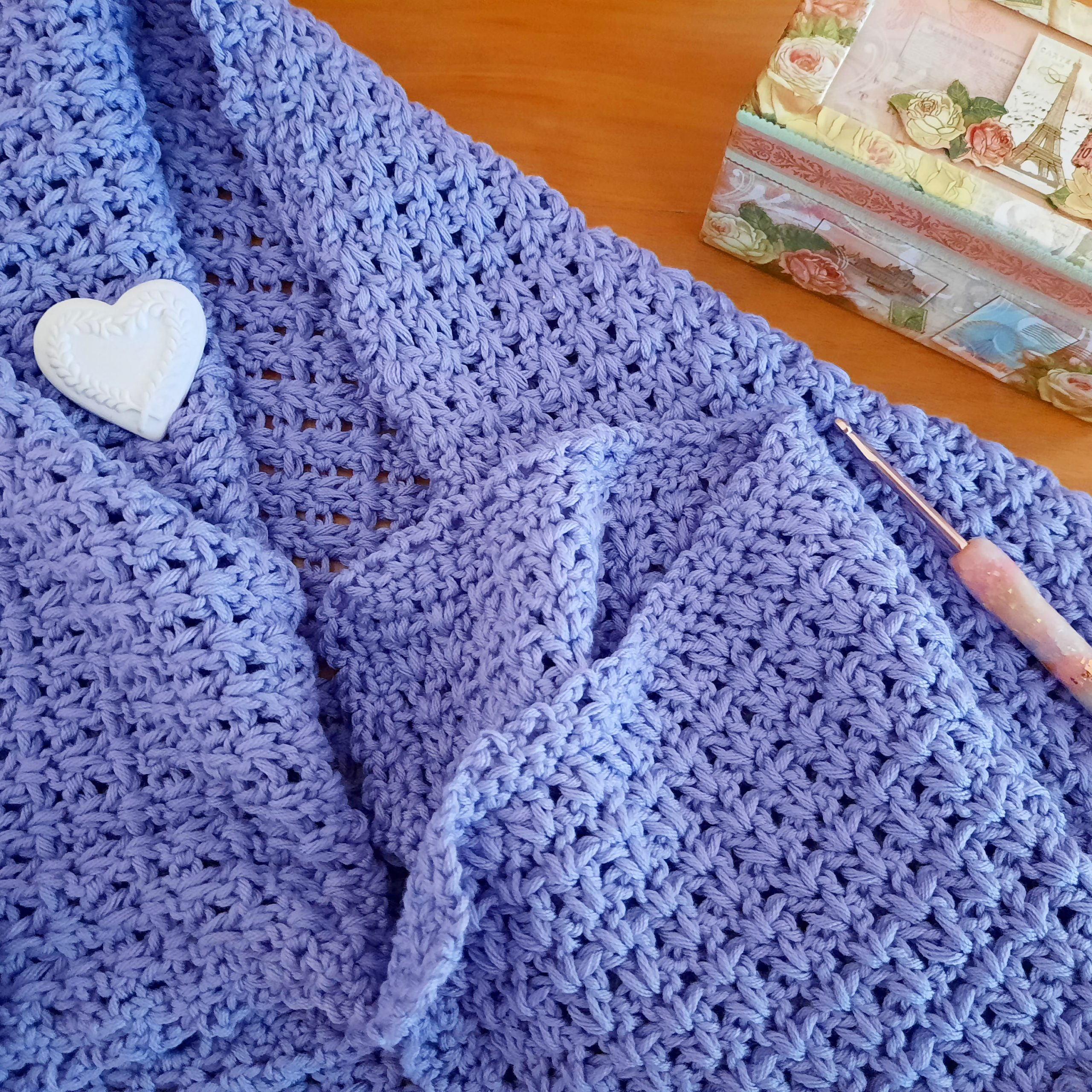 Crochet Easy Wrap