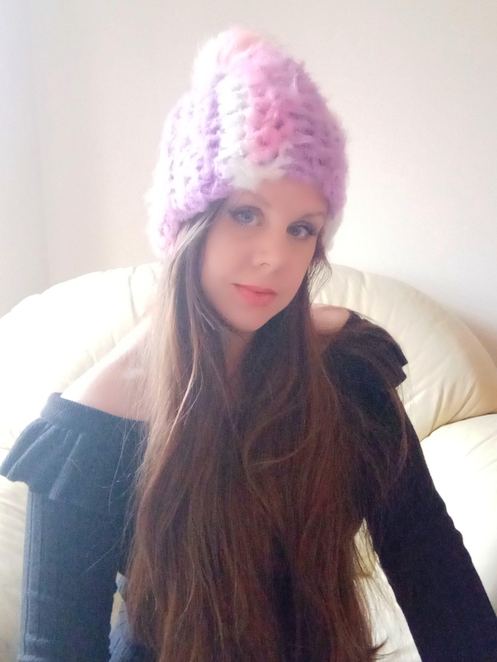 Crochet Easy Mandala Fluffy Beanie