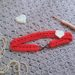 Crochet Be My Valentine Hairband