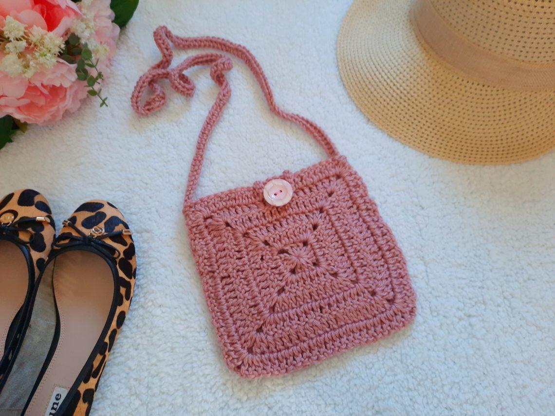 Crochet The Sweet Sixteen Boho Bag