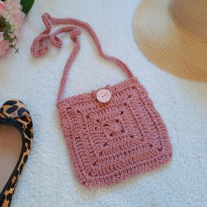 Crochet The Sweet Sixteen Boho Bag