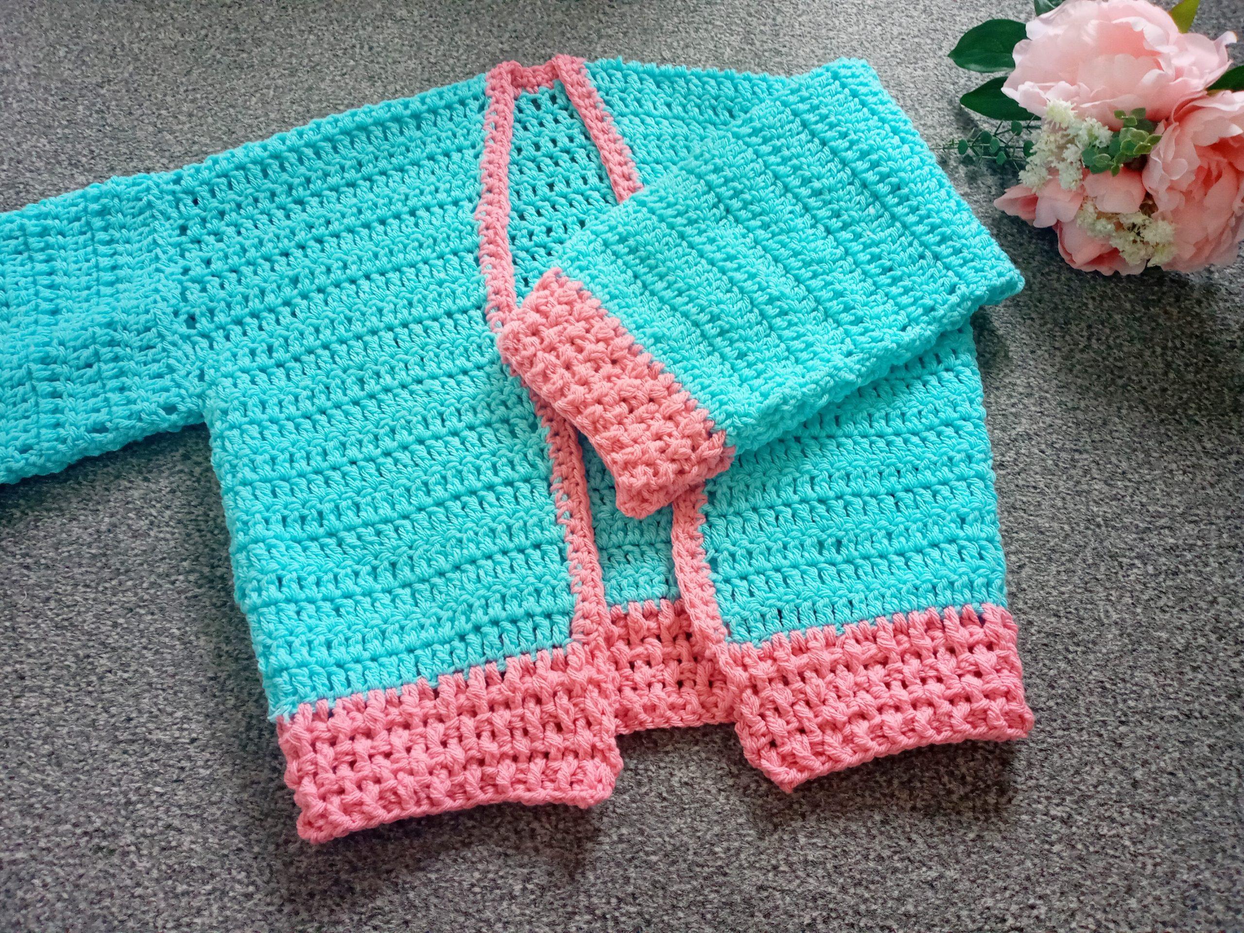 Crochet The Blue Skies Cardigan