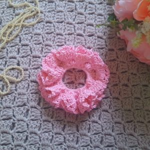 Crochet Easy Cotton Scrunchie