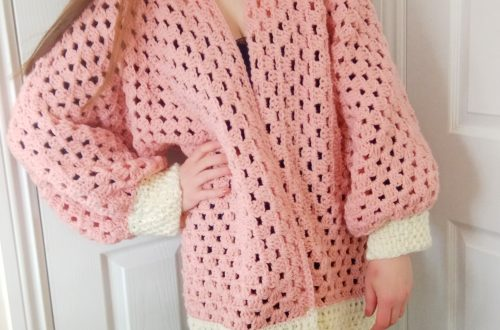 Crochet The Sweet Dreams Hexagon Cardigan