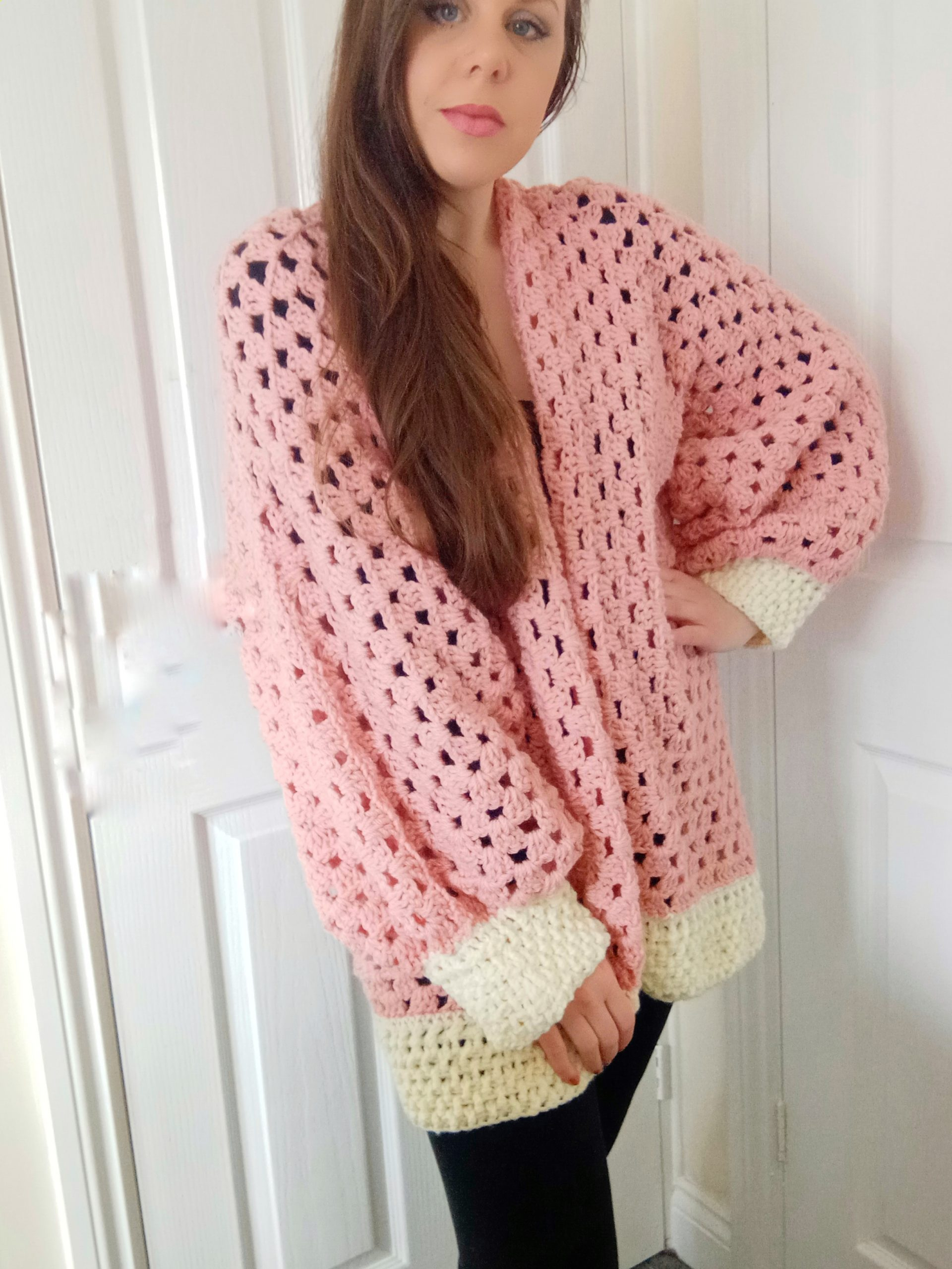 Easy cardigan project