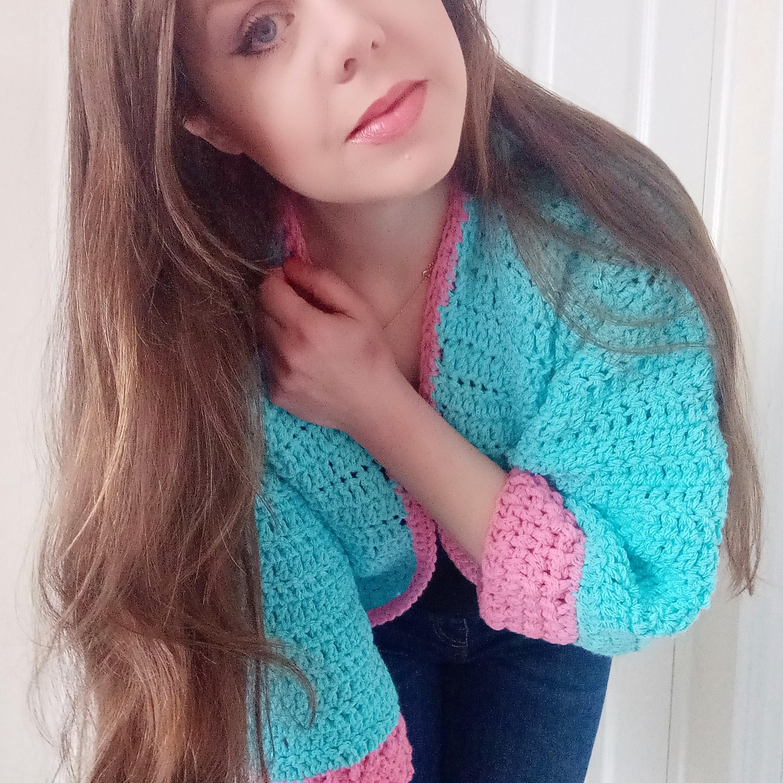 Crochet beautiful cardigan