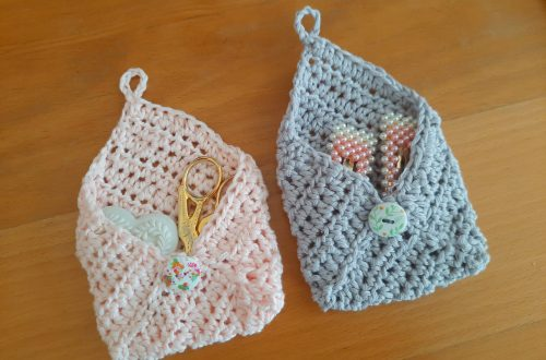 Crochet Easy Envelope Purse